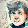 chomiji: Tuuri Hotakainen from the webcomic Stand Still STay Silent (Tuuri Smiling)