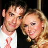 sarcasticsra: A picture of Christian Borle and Laura Bell Bundy. (the devil herself: lucy and daniel)