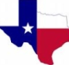 thnidu: outline of Texas, colored like the state flag (Texas)