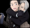 tarotgal: (Yuri On Ice- Victor Clinging)