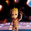 coffeeontherocks: Picture of Groot from Guardians of the Galaxy waving. (Guardians of the Galaxy - Groot)