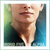 st_aurafina: Shaw's face, the lower half. Text = indigo five alpha (POI: Indigo five alpha)