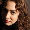 intheheart: A picture of Regina Spektor with her face half-shadowed, looking up at the camera. (in the heart : olivia : regina spektor)