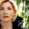 st_aurafina: Jodie Whittaker as the 13th doctor, face in close-up (DW: Thirteen's face)
