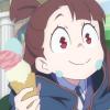 admiral: akko kagari → little witch academia (sweet tooth)