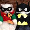 sunnymodffa: Batman & Robin in cat form (Bat!cat & Robin!kitten)