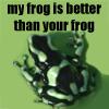 seperis: (version one, frog love)