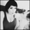 thedaughteroftyr: A black and white photo of me vaping (Default)
