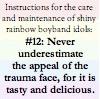 flange5: (rule 12: trauma face)