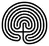 minoanmiss: a black and white labyrinth representation (Labyrinth)
