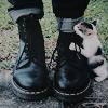 quantumcupcakes: (Boots & Cats)