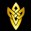 dens_extra_pups: Gold colored celtic knot-like design on a black background (FEH)