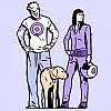 inkvoices: avengers:team hawkeye and lucky