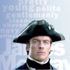 tinny: Pretty, young, polite, gentlemanly, clean-shaven navy officer James McGraw (blacksails_young james)