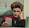 egret: Capt. Janeway reading a paid (Default)