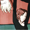 el_staplador: Tight crop of Mila holding Yuri Plisetsky over her head - from Yuri!!! on Ice (mila)