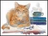 redheadedfemme: (literary cats)