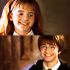 dani_meows: (hp: harry/hermione first year smiles)