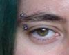 juliet: (eyebrow, piercing)