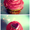 morningapproach: (cupcake\\sparkly pink frosting)