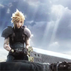 batman: Cloud Strife and Zack Fair from Crisis Core: Final Fantasy VII (living legacy)