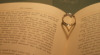 usagi_kun1217: My wedding ring creates the shadow of a heart on my favorite pages of The Hobbit. (book nerd, divorced now, hobbit)