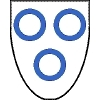 xela: Argent, three annulets azure (arms, sca)