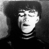 angelicmobster8: still from the cabinet of dr caligari, featuring conrad veidt with his eyes closed (conrad)
