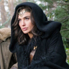 anaraine: Diana of Themyscira, a hooded black cloak settling over her shoulders as she stares out at her intended target. ([wonder woman] a cloak of conviction)