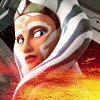 anaraine: Fulcrum (an adult Ahsoka Tano), head turned to look back. ([star wars] you are a stranger here)