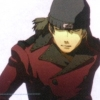 mortal_son: Shinjiro wearing his second default expression in the game: stoic with his eyes shut (eyes closed)