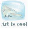 feng_shui_house: drawing polar bear text art is cool (Art cool, Art polar bear)