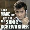 raykel: (Sonic Screwdriver)