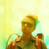 aurumcalendula: image of Holtzmann from the 2016 Ghostbusters movie (Holtzmann)