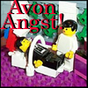feng_shui_house: Avon and Servalan Legos text Avon Angst (Avon Lego Angst)