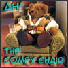 feng_shui_house: Teddy Bear text Ah, The Comfy Chair (Teddy Bear Blake Comfy)