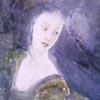 espresso_addict: Watercolour of Luthien dancing (tolkien)