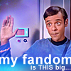 espresso_addict: Bashir with hand up in turbolift with text: 'my fandom is THIS big...' (bashir (this big))