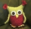 ginalangridge: Small crochet owl stuffie (Default)