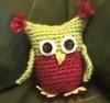ginalangridge: Small crochet owl stuffie (Default)