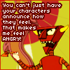 "mel: the robot devil from futurama saying ""you can't just have characters announce how they feel; that makes me feel angry!"" (robot devil announce how they feel)"