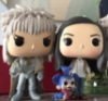 womanroaring: Funko Pop figurines of Jareth the Goblin King, the worm, and Sarah from the 1986 Jim Henson movie Labyrinth (Default)