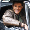 futuresoon: Dean Winchester, being all happy (happy dean)