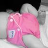 lizziey: Pink cloth diaper by fuzzi bunz (Annika: Pink Diaper, Misc: Cloth Diaper)