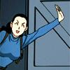 skygiants: Rebecca from Fullmetal Alchemist waving and smirking (o hai)