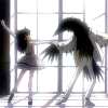 skygiants: Rue from Princess Tutu dancing with a raven (belle et la bete)