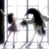 skygiants: Rue from Princess Tutu dancing with a raven (belle et la bete)