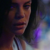 aurumcalendula: closeup of Tammy Gregorio from NCIS New Orleans with purple lighting (Tammy Gregorio)