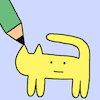 flexagon: for all creative endeavors (drawing-cat)