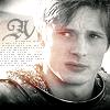 gwy: (Merlin - Arthur b/w)